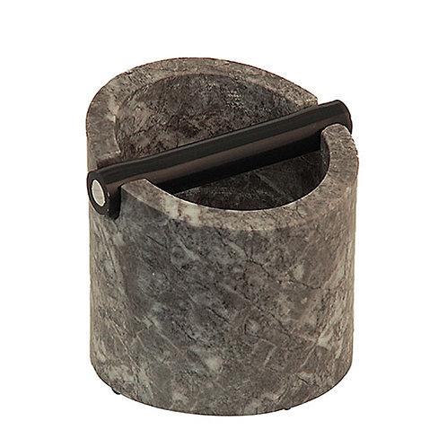 Marmorna posodica za kavne odpadke