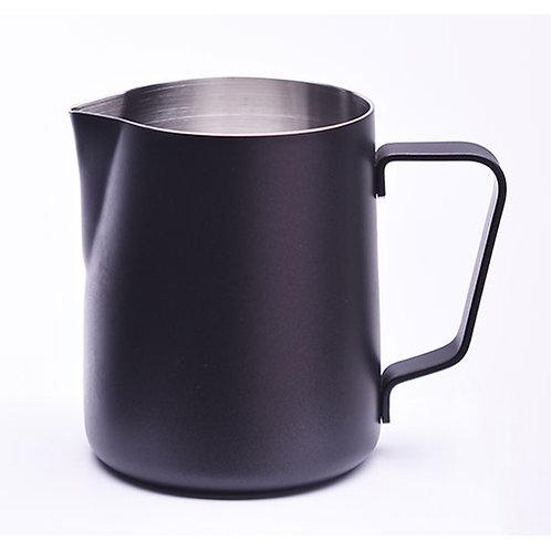 Vrček za penjenje mleka-črn
