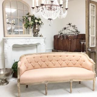 Marseilles Bench-Custom Re-Upholstery