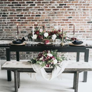Duke Dining Table & Bench
