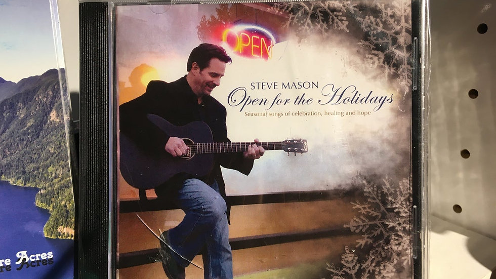 Open for the Holidays by Steve Mason