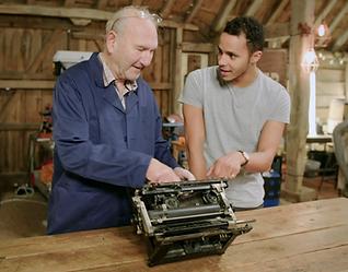 The Repair Shop, George Blackman Vintage Typewriters