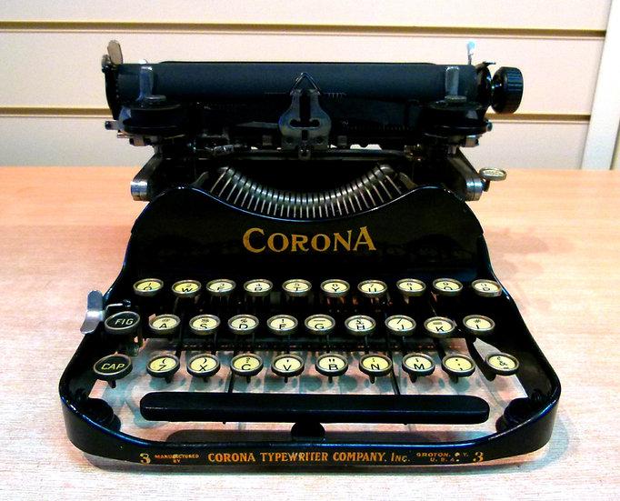 Corona 3 Folding Portable (1918)