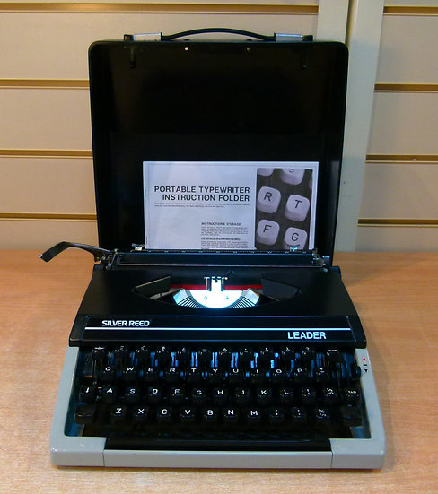 Silver Reed Leader Portable (1970's)
