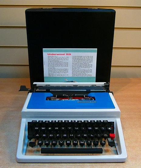 Underwood 315 Portable (1970's)