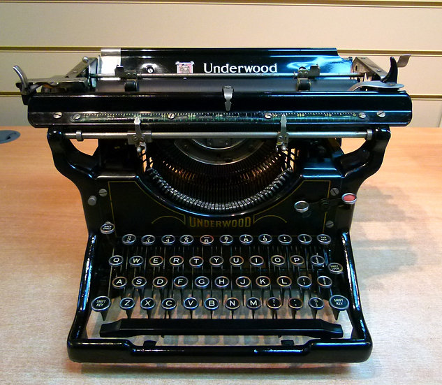 Underwood Standard No5 (1927)