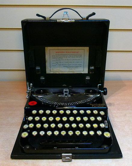 Remington Folding Portable (1928)