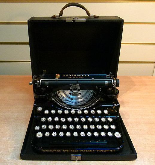 Underwood 4 Standard Portable (1927)