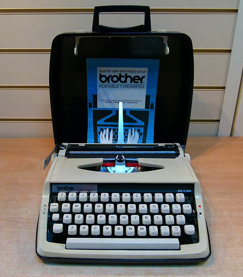 Brother Deluxe 800 Portable (1970's)