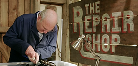 George featuring on The Repair Shop