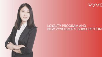 ロイヤリティプログラムと新しいVYVOスマートサブスクリプション