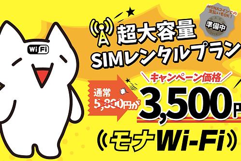 CS03 レンタルSIM LTE100GBまで 35,00円/毎月(縛りなし)