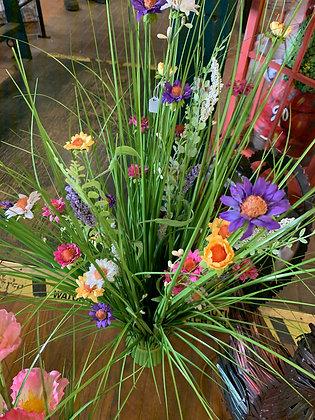 Artificial Flower Bouquet - Multi Colour