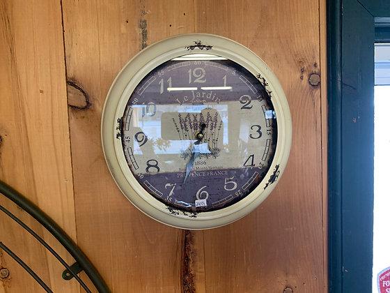 Small Cream Clock