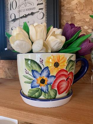 Teacup Plant Holder