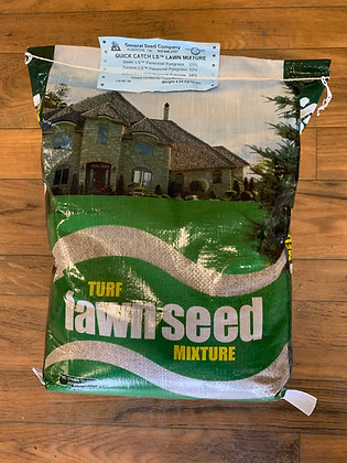 25lb - Quick Catch Grass Seed