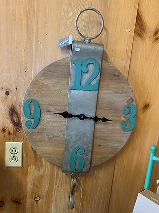 Cottage Wood Clock