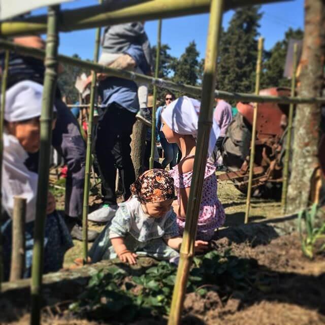 Uruguayan children in tradition dress, global business
