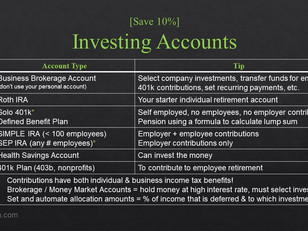 Foundational Business Accounts