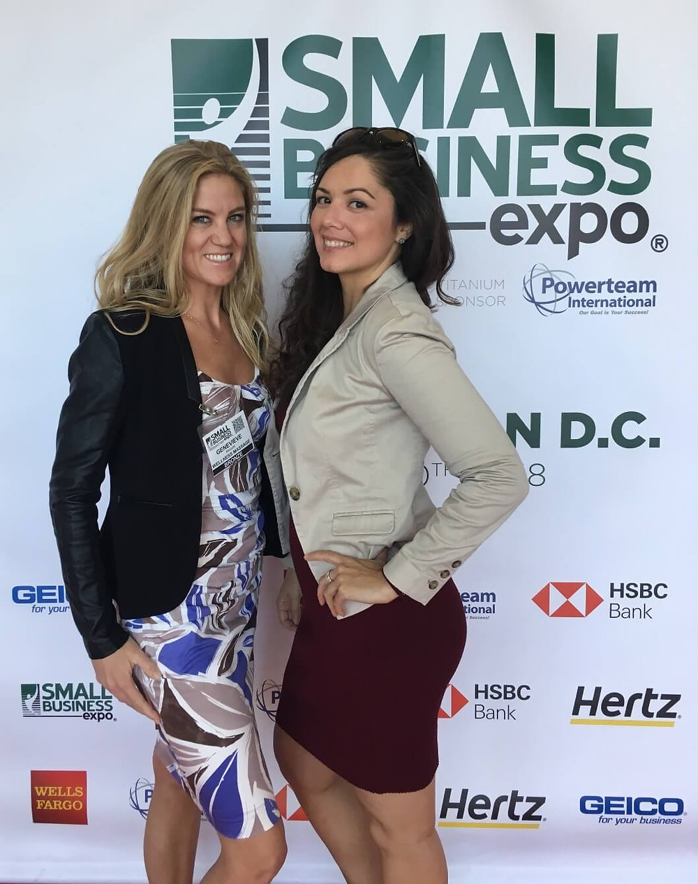 Dr. Valeri Colon at Small Business Expo
