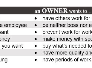 Thinking Like an Owner vs. a Boss