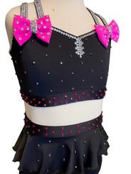 $295 Black and Pink Jazz Costume
