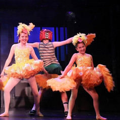 """Erica Parks (Right) in """"Billy Elliot"""""""