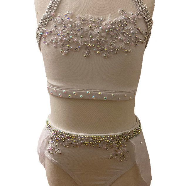 White Lyrical Costume