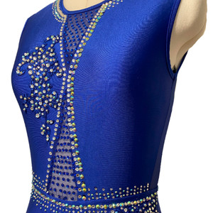 Royal Blue Jazz/Musical Theatre Costume