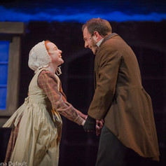 """Erica Parks in """"A Christmas Carol"""""""