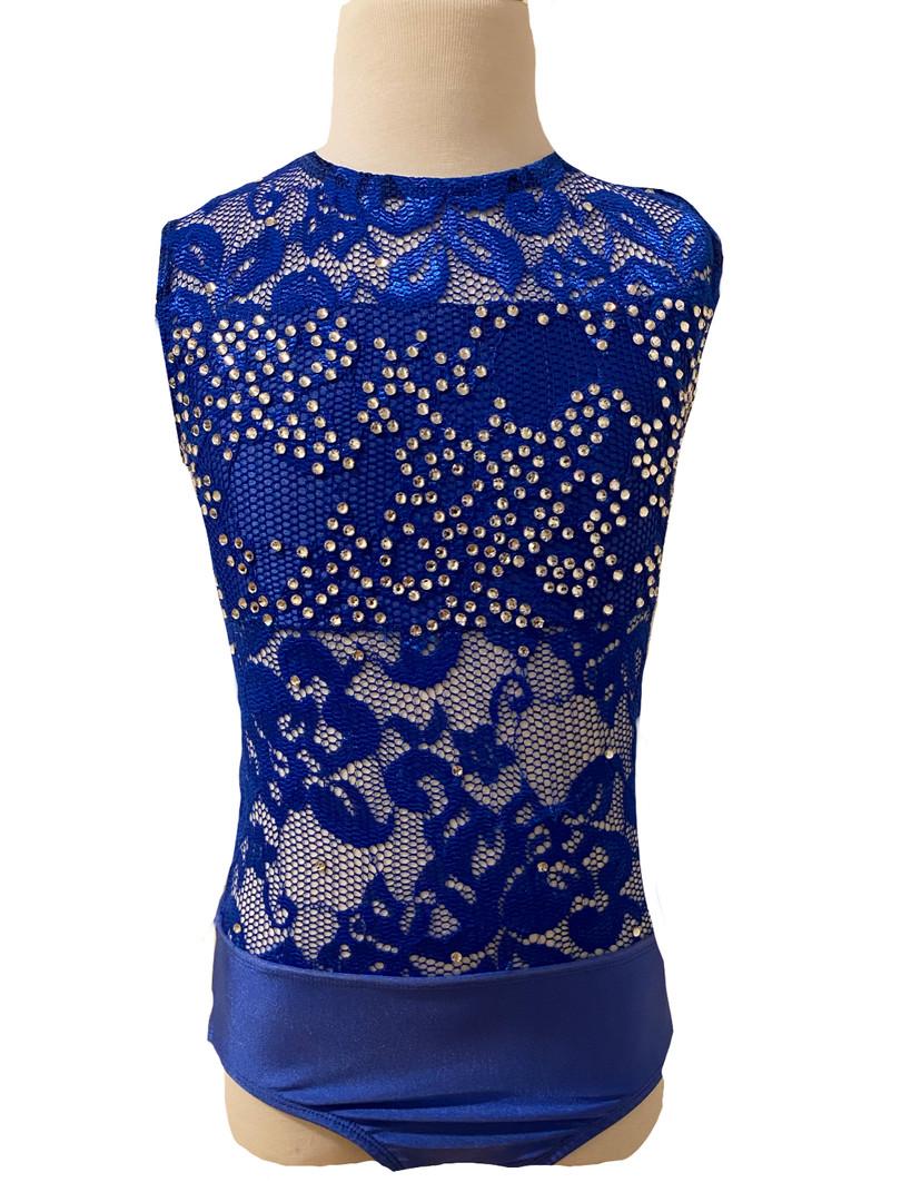 $55 Royal Blue Lace Costume