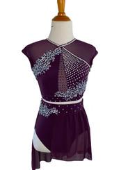 $325 Purple Lyrical Costume