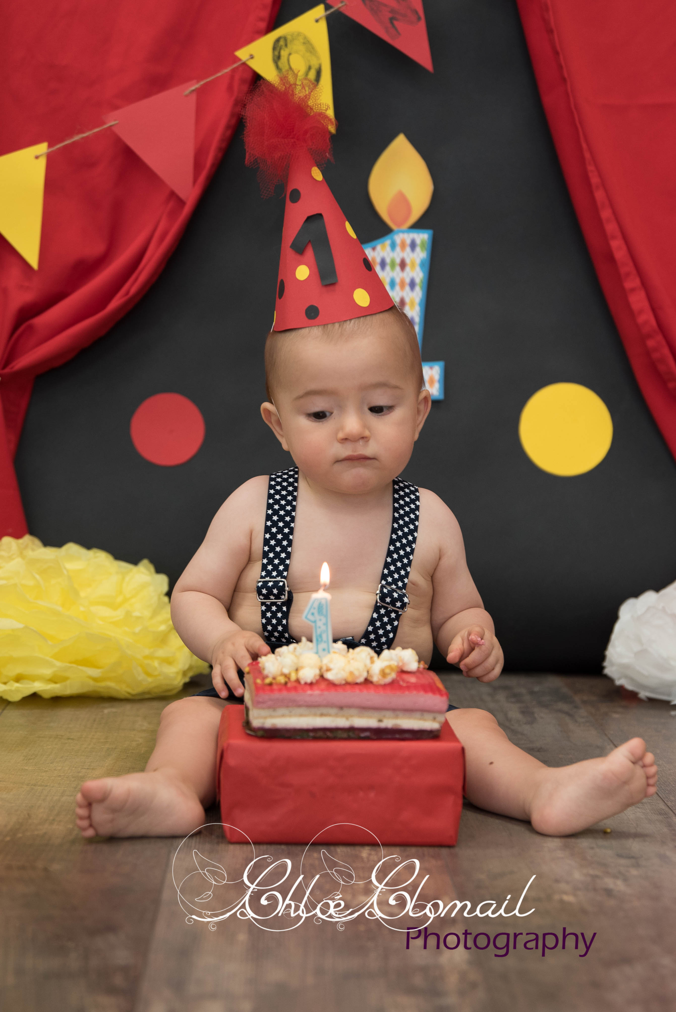 smash cake circus