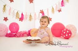 smash cake rose et or