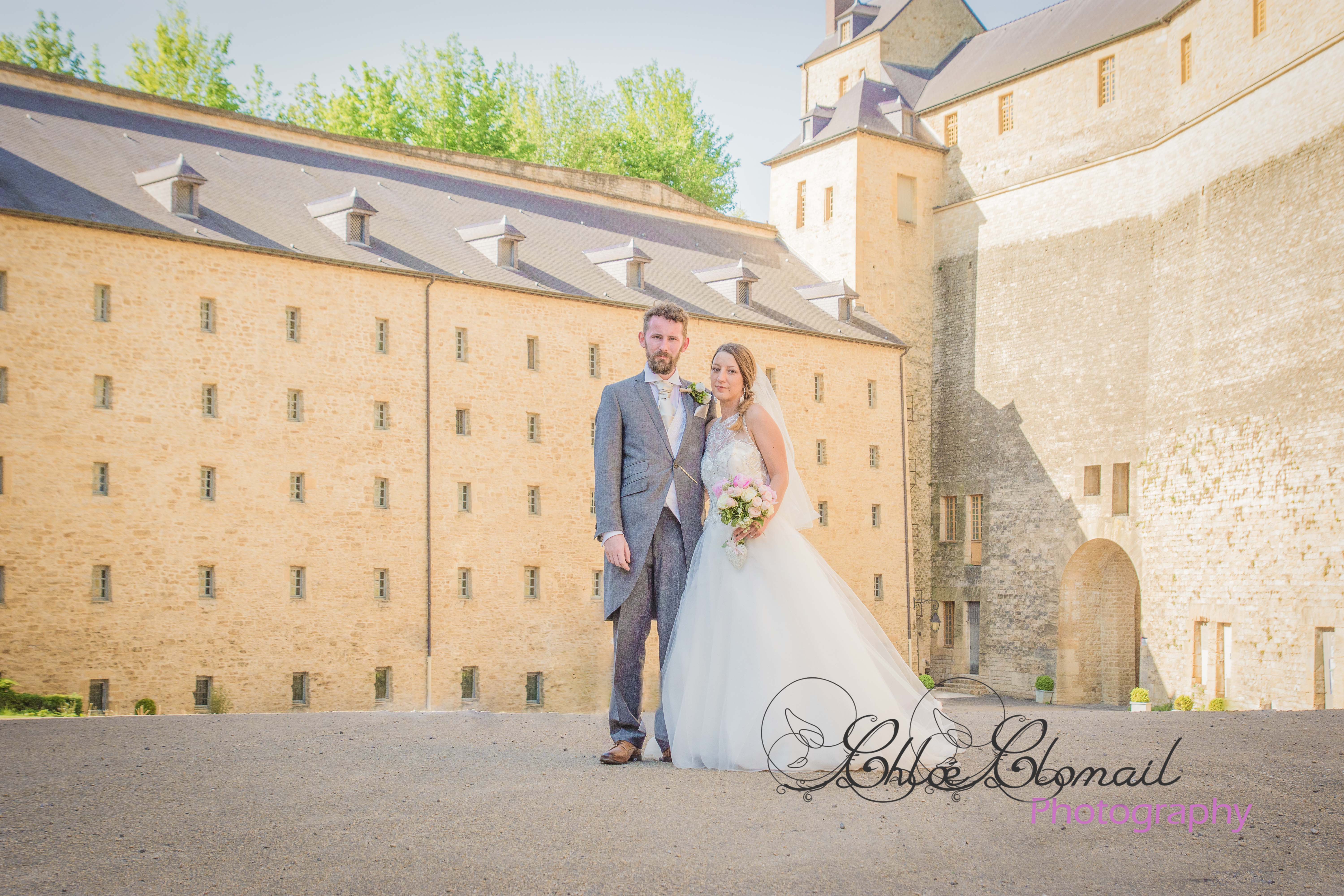 photo mariage chateau fort sedan