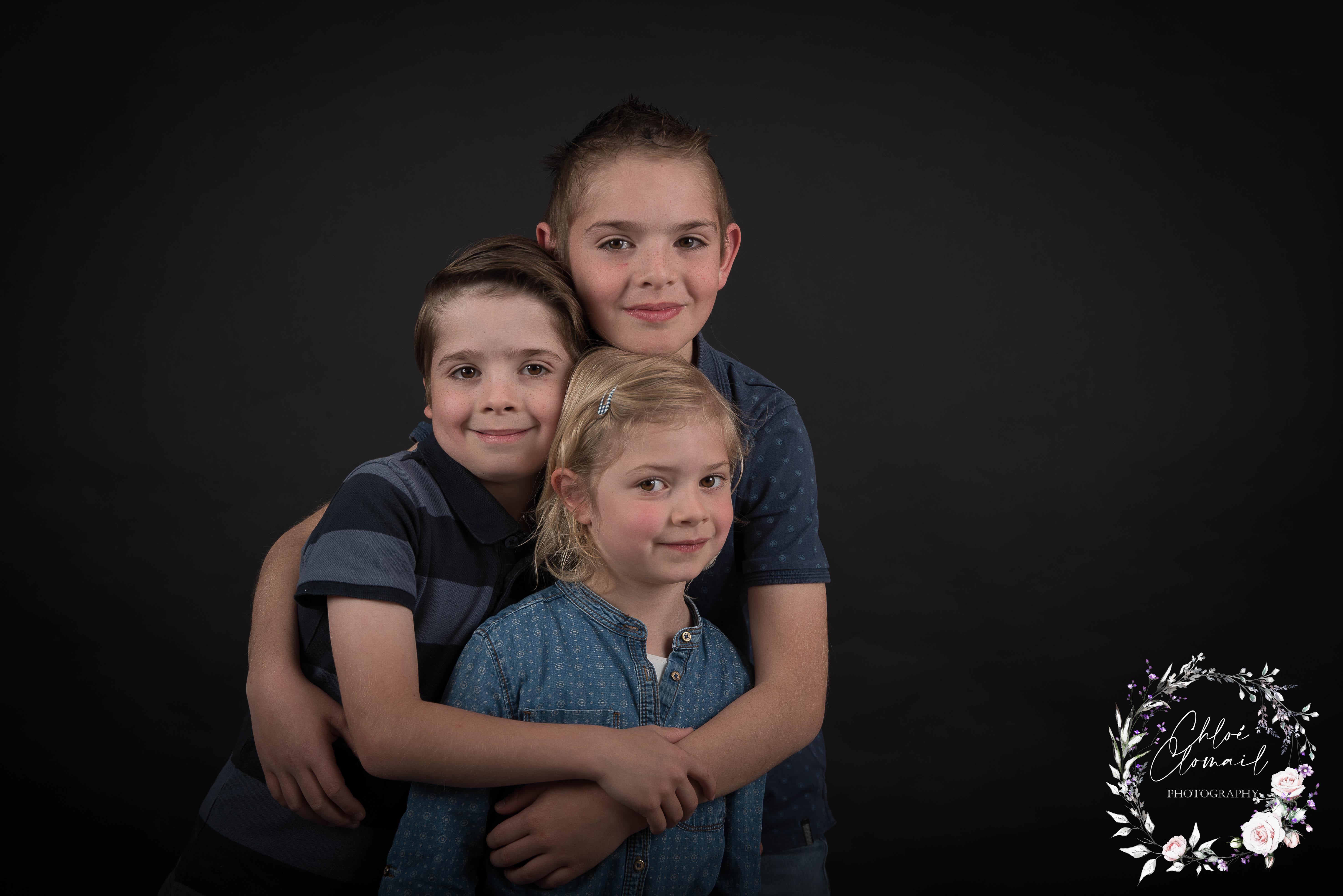 photo fratrie portrait frere et soeur adrennes