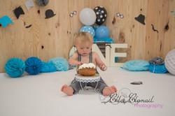 smash cake little man