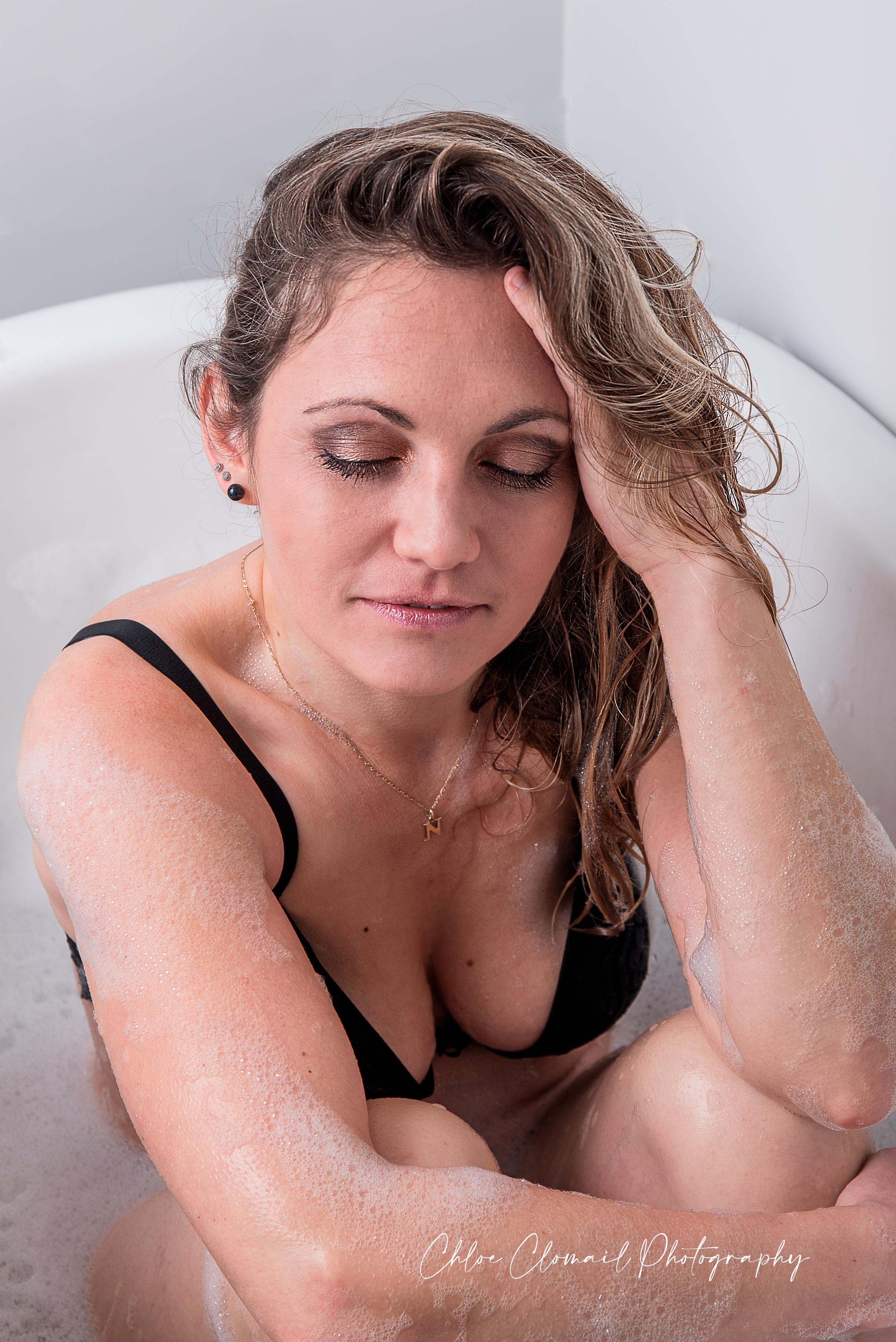 femme baingoire