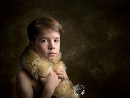 Sublimer votre portrait d'enfant tel un tableau de grand maître.