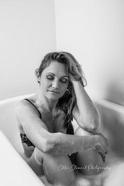 baignoire boudoir femme