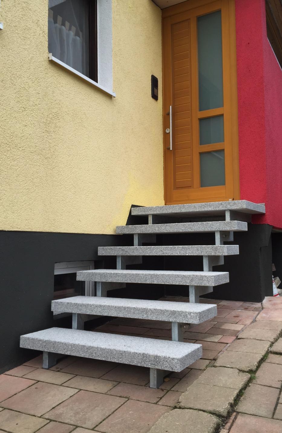 Stahlholmtreppenkonstruktion