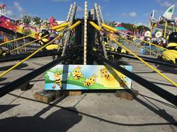 Kiddie Bee Ride Scenery