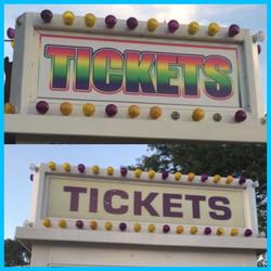 All Around Amusement Tickets Marquee