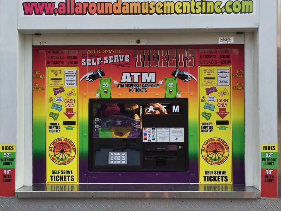 ATM Ticket Box