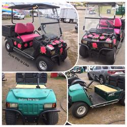 Lisa's Golf Cart
