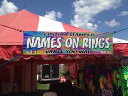 Names on Rings Banner