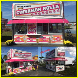 Cinnamon Rolls Wrap