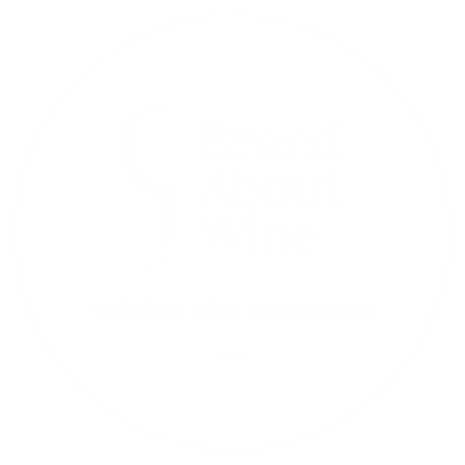 Brandabout Wine Building Wine Experiences logo circle
