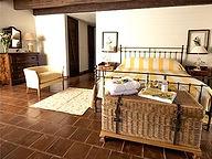 Casa Macaire bedroom