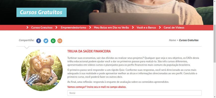 Trilha da Saúde Financeira - Febraban